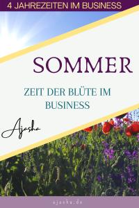 Blüte im Business