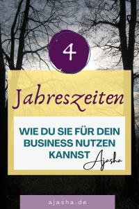 4 Jahreszeiten im Business