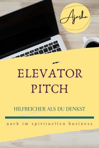 Der Elevator Pitch