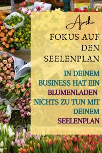 Blumenladen im Business